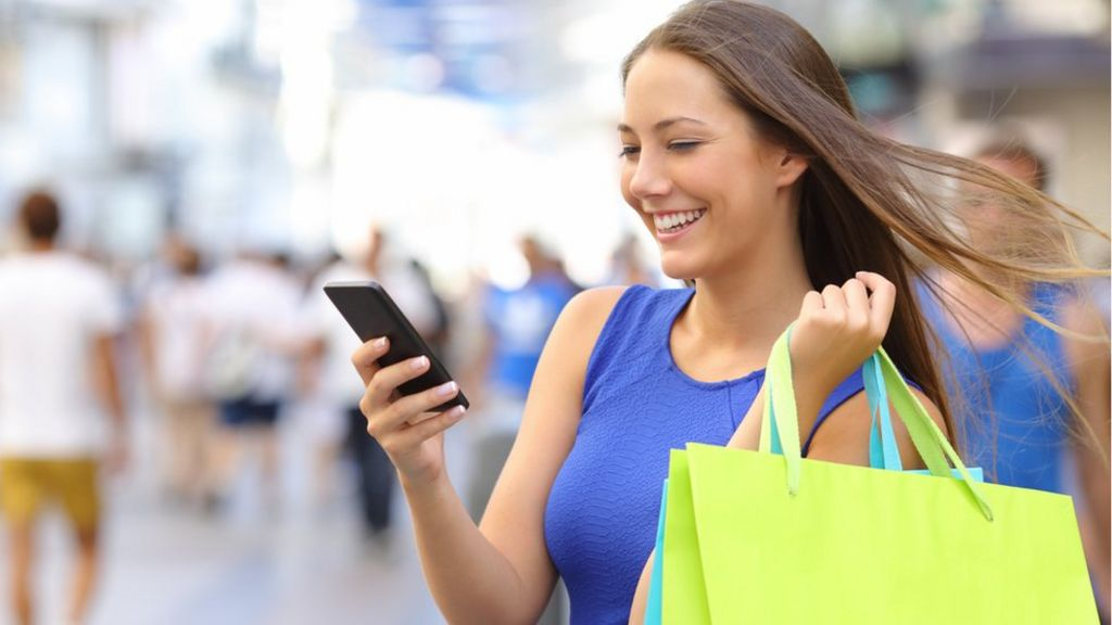 Is Christmas shopping by smartphone just two taps away? - BBC News