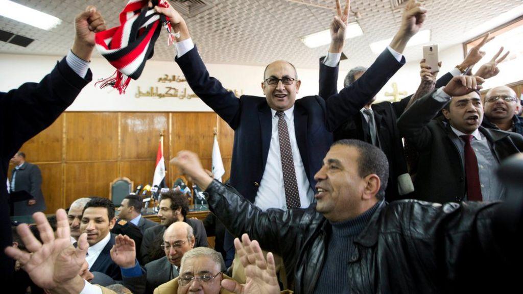 تيران وصنافير: المحكمة الإدارية العليا بمصر تقضي ببطلان تسليم الجزيرتين للسعودية - BBC Arabic