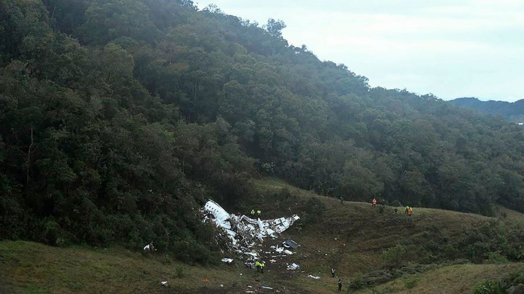 Colombia Chapecoense Plane Crash What We Know Bbc News
