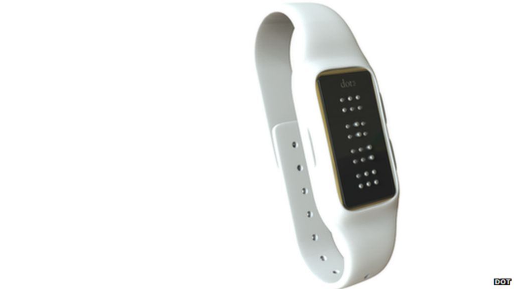 Braille 'dot' smartwatch developed for blind people