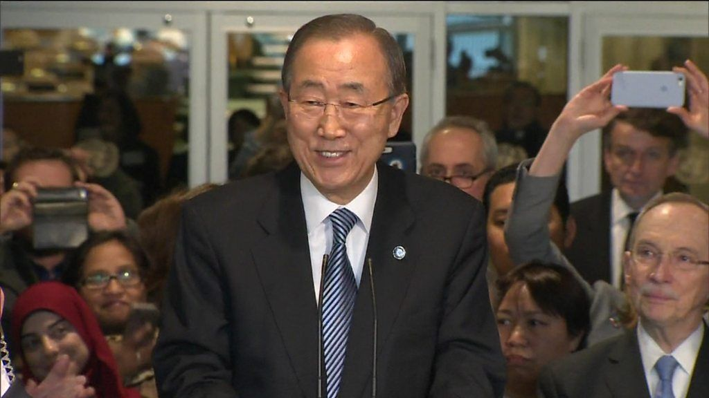 UN chief Ban Ki-moon bids fond farewell