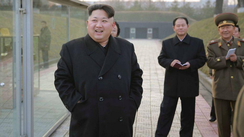 North Korea's Kim Jong-un 'in H-bomb claim' - BBC News