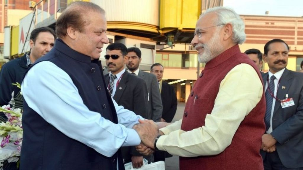 India PM Modi in surprise Pakistan visit - BBC News