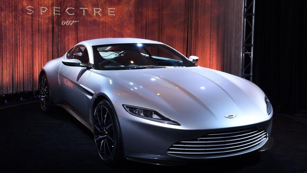 james bond aston martin db10 spectre car sold for bbc news. Black Bedroom Furniture Sets. Home Design Ideas