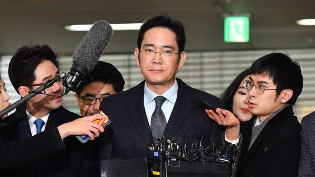 Samsung Chief in Second Grilling Over Corruption Claims