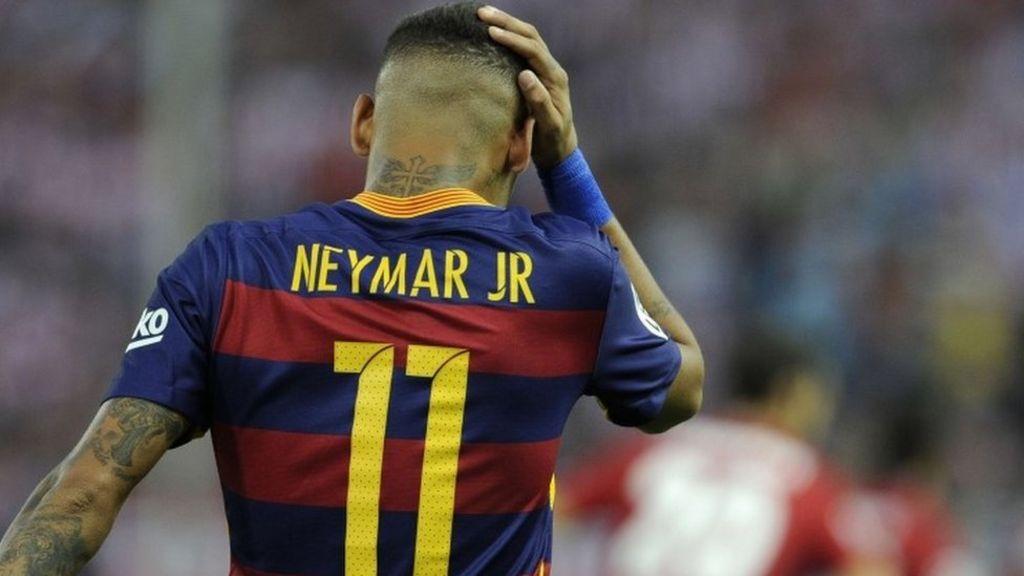 Parents deny Brazilian footballer Neymar evaded taxes - BBC News