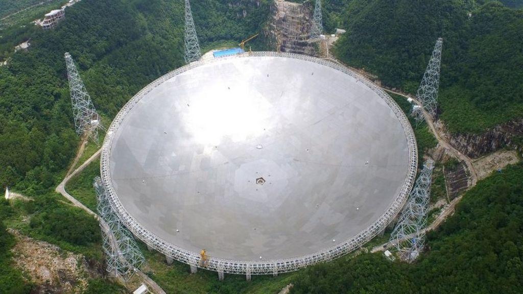 China's colossal radio telescope begins testing