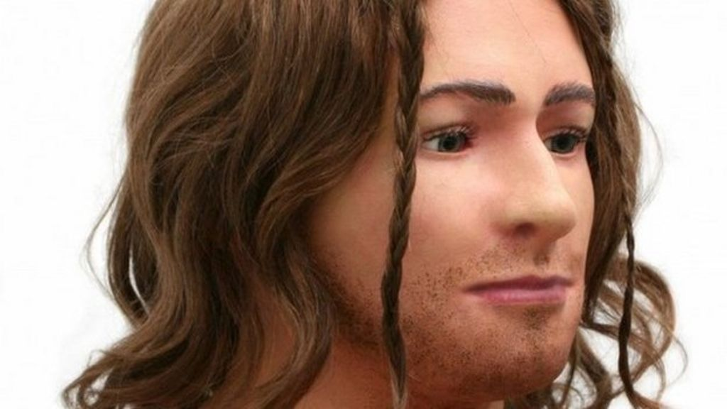 Scientists from Dundee University recreate the face of a young man who lived more than 4,000 years ago.