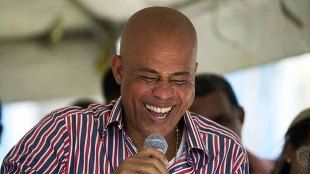 Haiti President Michel Martelly embroiled in sexism row - BBC News