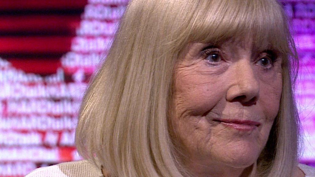 Dame Diana Rigg: 'I'm good at evil' - Entertainment news ...