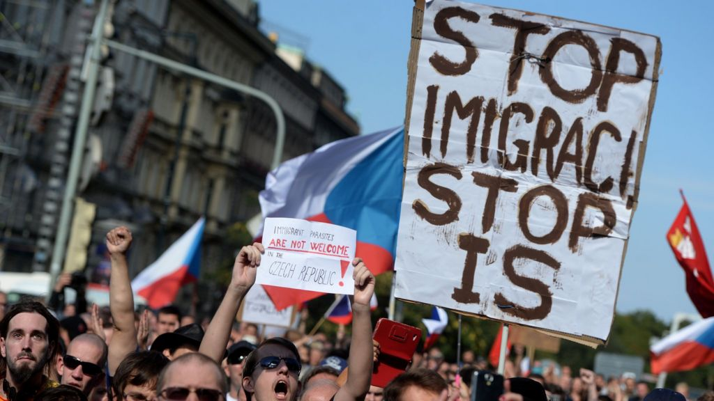 Migrant crisis why central europe resists refugee quota bbc news