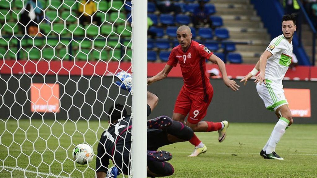 تونس تعزز حظوظها في التأهل إلى ربع نهائي كأس أفريقيا بفوز على الجزائر - BBC Arabic