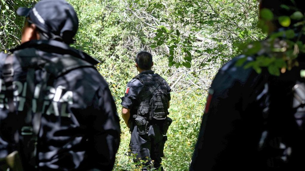 Mexico missing students: Search uncovers 60 mass graves - BBC ...