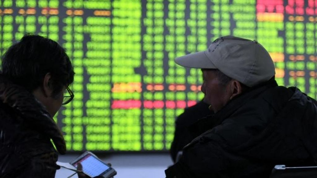 China's Shanghai Composite drops more than 5% - BBC News
