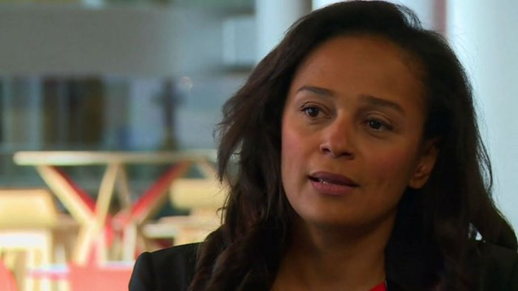Isabel dos Santos: 'Education is our gap in Angola' - BBC News