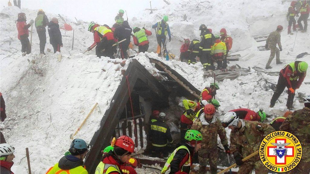 Italy avalanche: Survivor tells of 58-hour ordeal