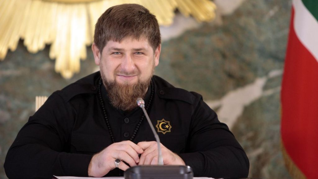Instagram video removal angers Chechen leader Kadyrov - BBC News