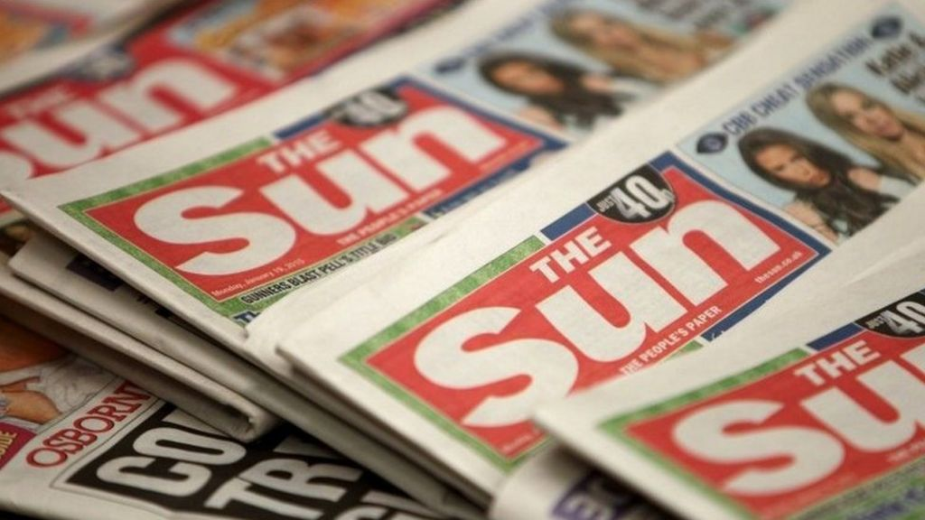 Record complaints for Sun UK Muslim 'jihadi sympathy' story - BBC ...