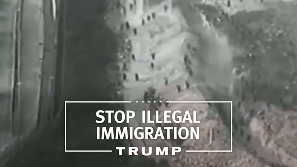Donald Trump's first TV ad touts Muslim ban - BBC News