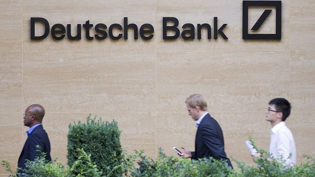 deutsche bank commits to new london office bbc news. Black Bedroom Furniture Sets. Home Design Ideas