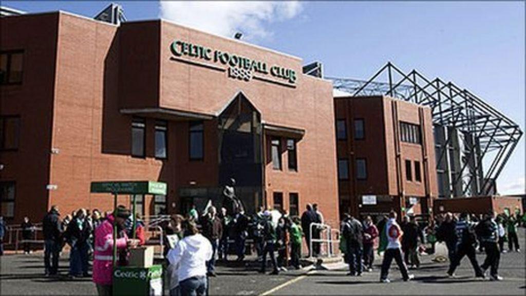 'Bullet' package sent to Neil Lennon at Celtic Park - BBC News