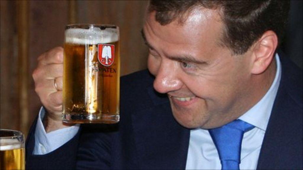 Russia classifies beer as alcoholic - BBC News |Putin Beer