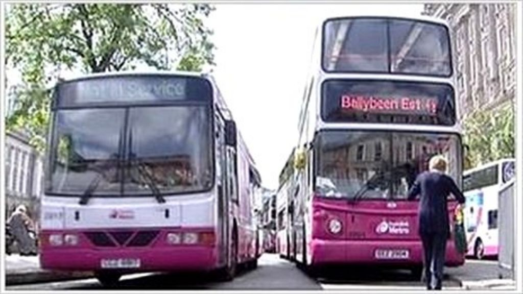 changes made to belfast city centre bus routes bbc news. Black Bedroom Furniture Sets. Home Design Ideas