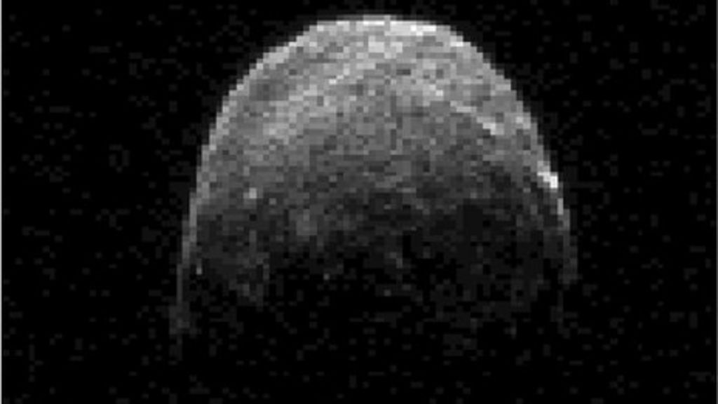 Giant asteroid passes near Earth - BBC News
