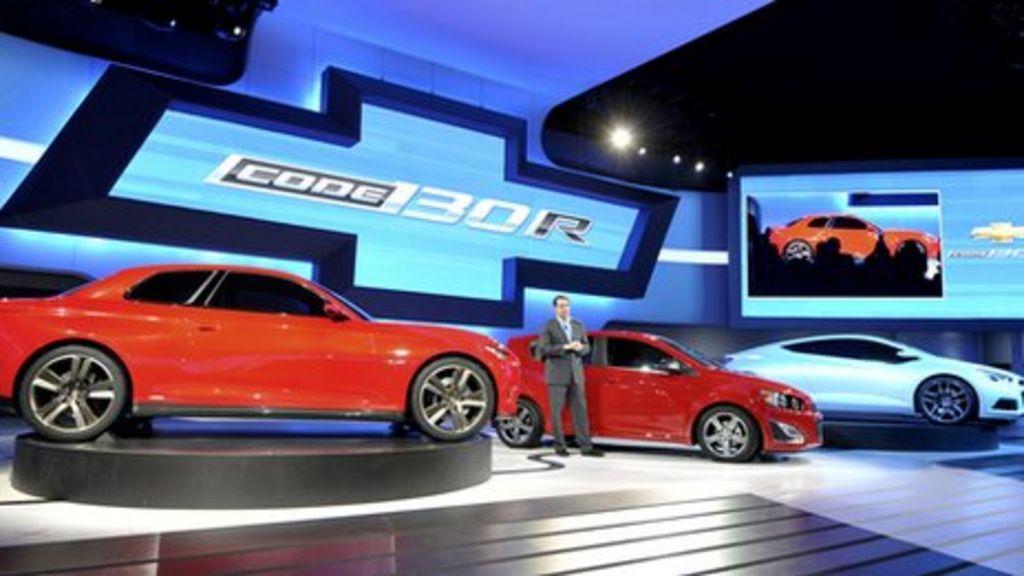 General Motors Unveils Record Profits For 2011 Bbc News