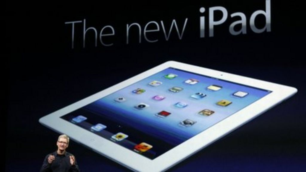Apple unveils new iPad with high-definition screen