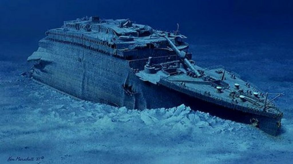 Titanic journey to the bottom of the ocean bbc news for How many floors did the titanic have