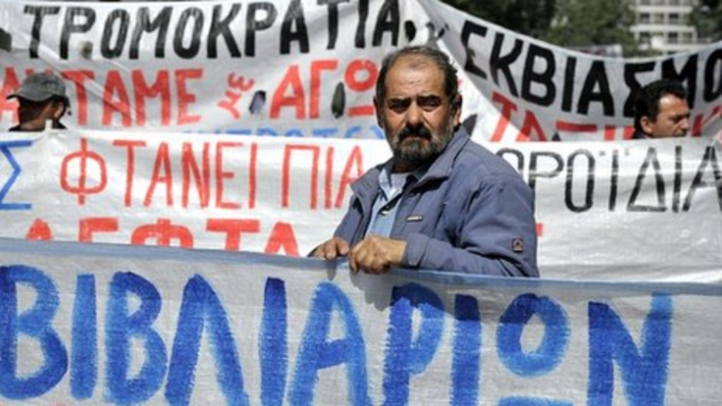 Greek debt raised out of default by Standard and Poor's - BBC News