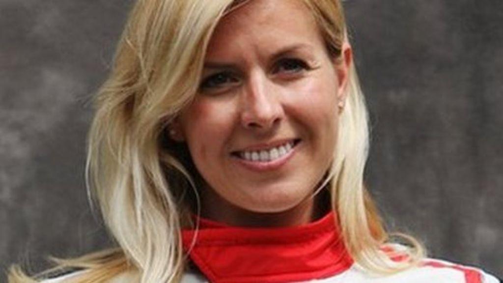 F1 Marussia driver Maria de Villota in Duxford crash