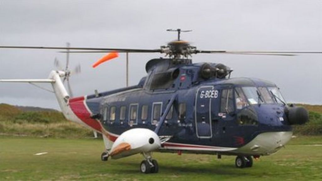 Penzance To Isles Of Scilly Helicopter Flights Ending  BBC News