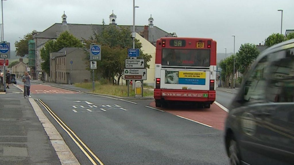 Plymouth Bus Lane Cameras Used To Enforce Restrictions