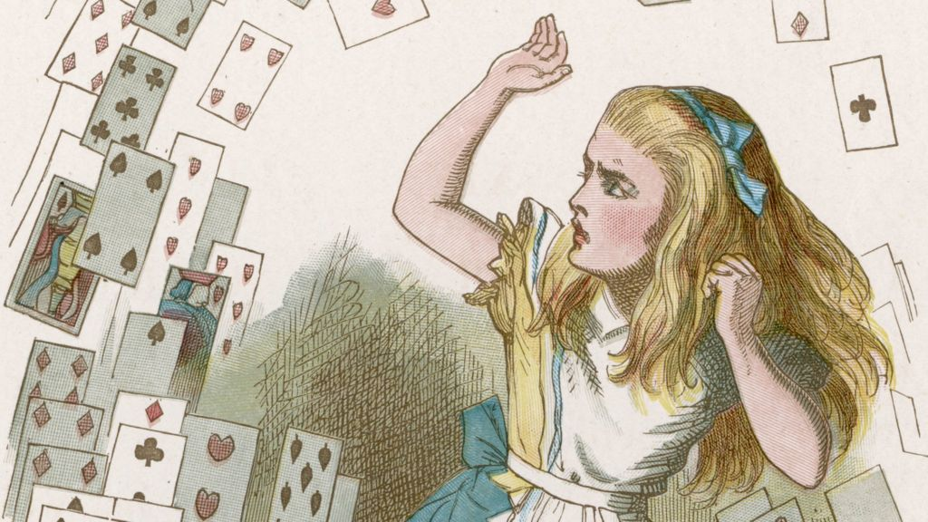 Was Alice high when she was in the Wonderland?