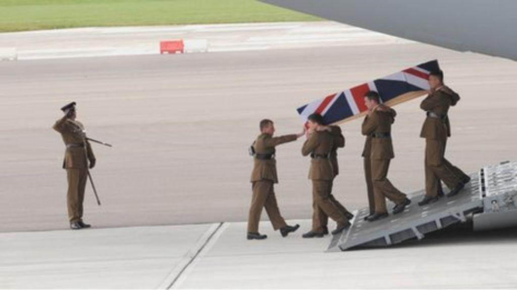 Bristol soldier Lt Andrew Chesterman repatriated to UK - BBC News