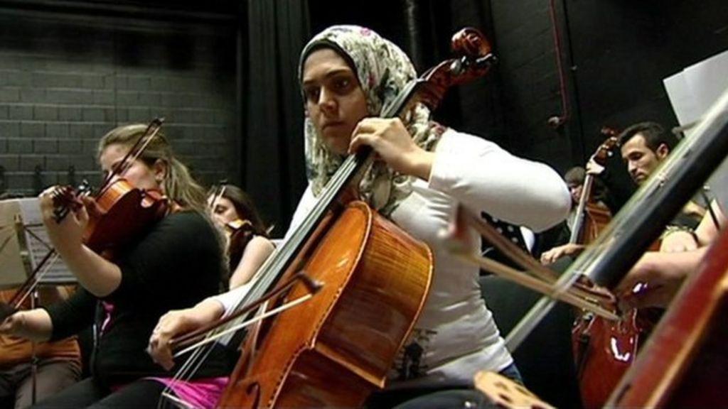 meet the orchestra bbc news