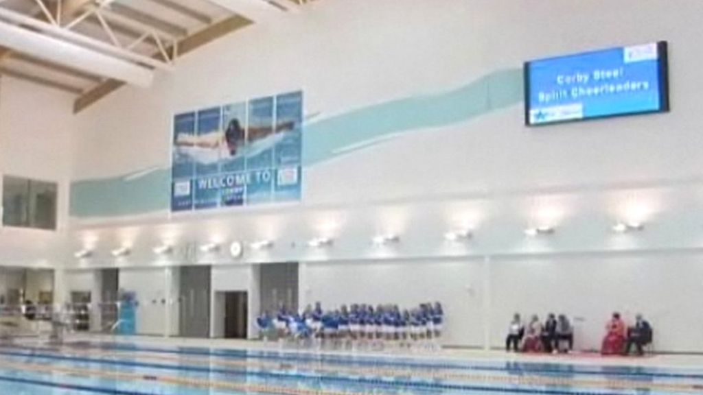 Shortage of swimming instructors at olympic standard pool in corby bbc news for Corby international swimming pool