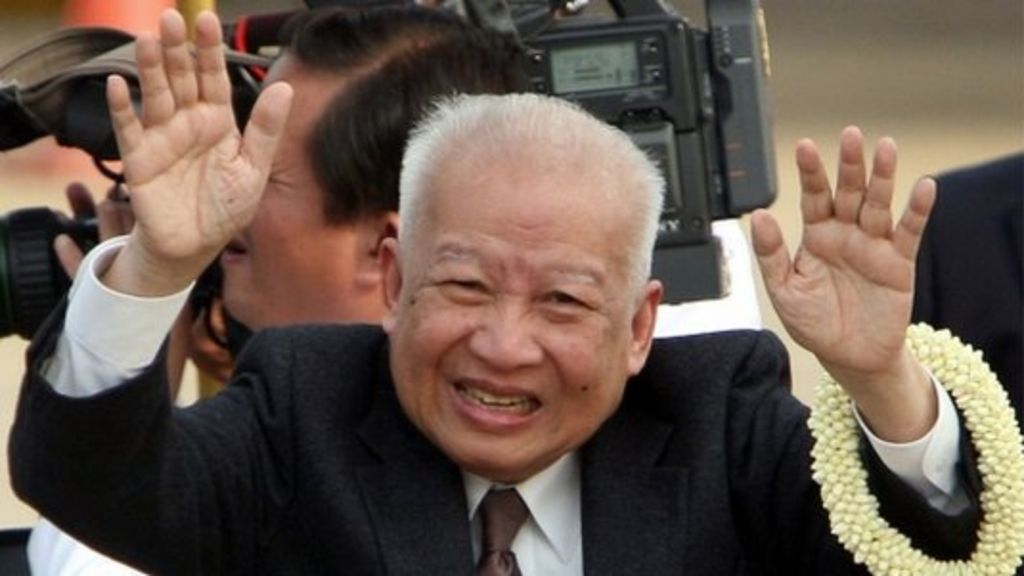 Norodom Sihanouk official website