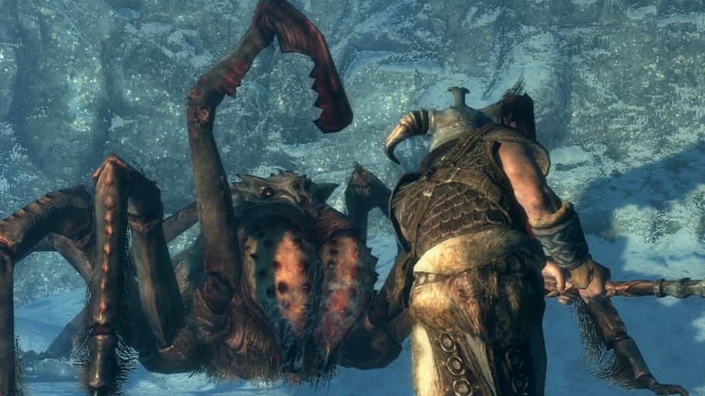 skyrim how to make enemys have more health
