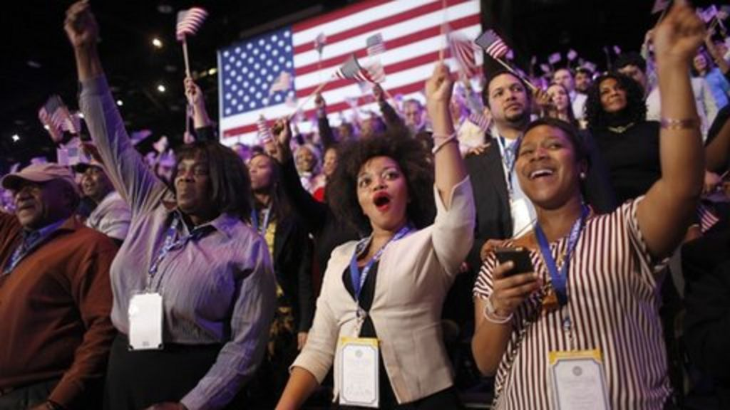President Barack Obama defeats Romney to win re-election - BBC ...