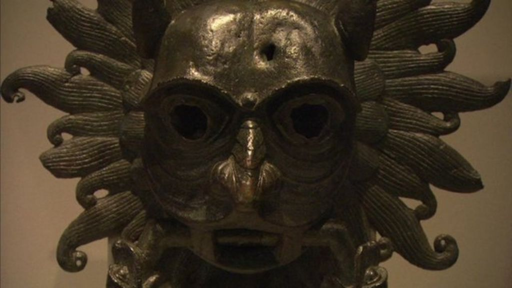 The Bronze Face To Ward Off Evil Spirits Bbc News