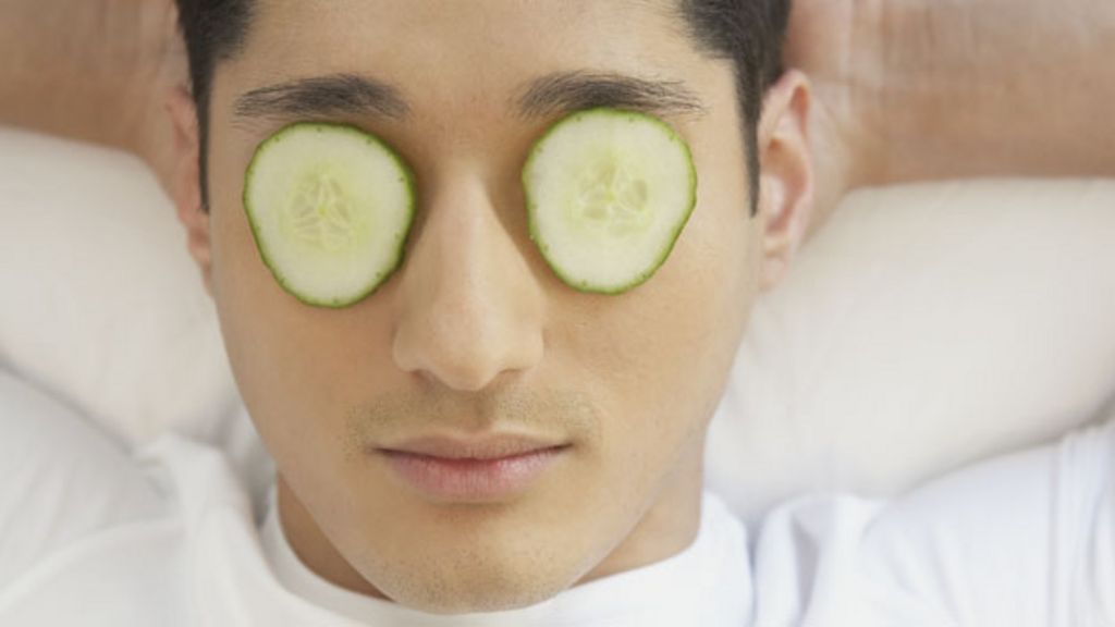 Image result for men eye care cucumber