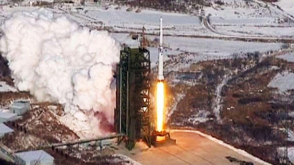 North Korea rocket 'has 10,000km range' - BBC News