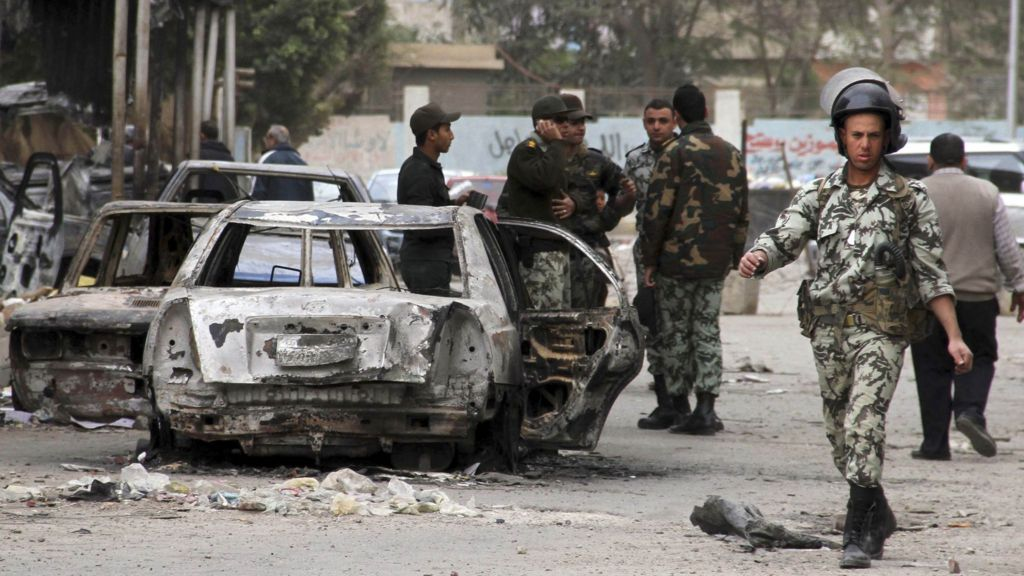 Egypt army chief warns of state collapse amid crisis bbc news