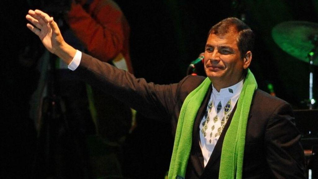 Profile: Ecuador's Rafael Correa - BBC News