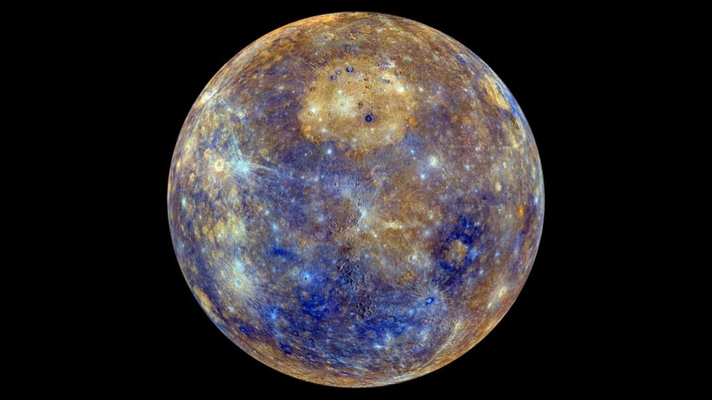 Mercury shows off its colourful side - BBC News