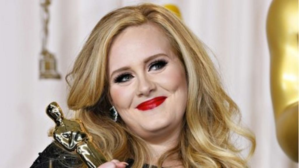 Adele Skyfall wins best song Oscar - BBC News