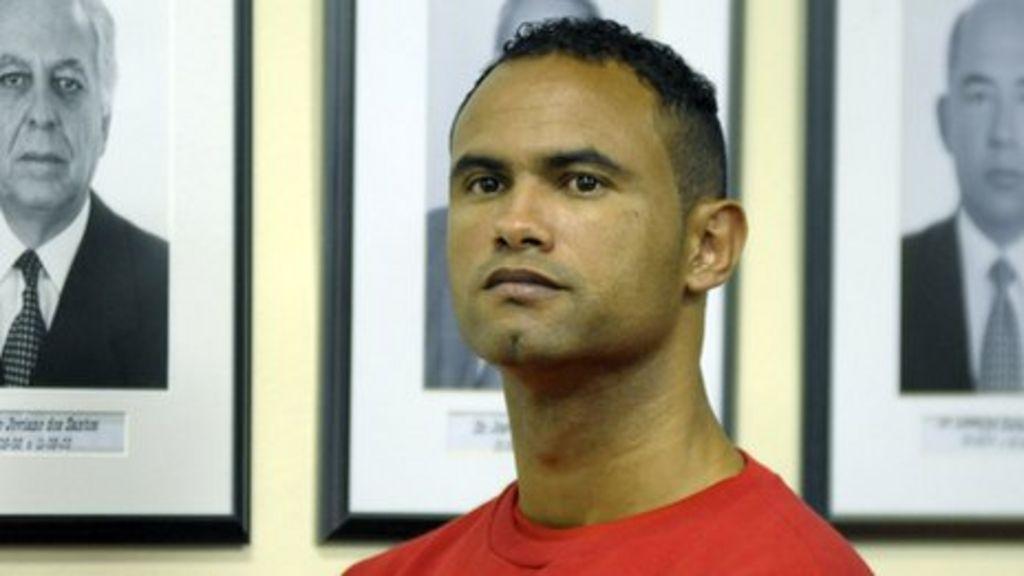 Brazil's Bruno Fernandes jailed over ex-lover's murder - BBC News